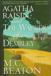 Cover of: Agatha Raisin and the walkers of Dembley