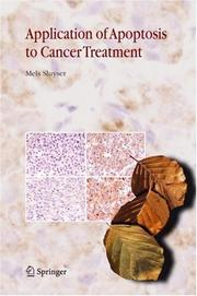 Cover of: Application of Apoptosis to Cancer Treatment