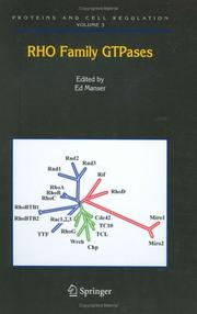 Cover of: Rho Family GTPases (Proteins and Cell Regulation)