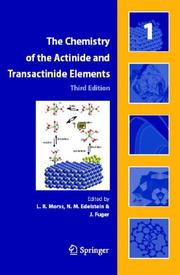 Cover of: The Chemistry of the Actinide and Transactinide Elements (5 Volume Set) |