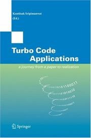 Cover of: Turbo Code Applications