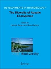 Cover of: Aquatic Biodiversity II |