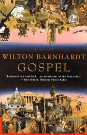 Cover of: Gospel | Wilton Barnhardt