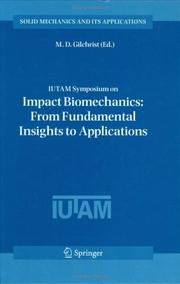 Cover of: IUTAM Symposium on Impact Biomechanics