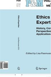 Cover of: Ethics Expertise