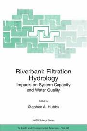 Cover of: Riverbank Filtration Hydrology