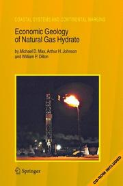 Cover of: Economic geology of natural gas hydrate by