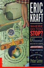 Cover of: Where do you stop? | Eric Kraft
