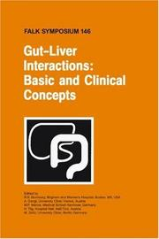 Cover of: Gut-Liver Interactions |