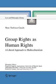 Cover of: Group Rights as Human Rights