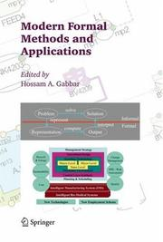 Cover of: Modern Formal Methods and Applications