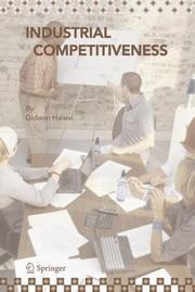Cover of: Industrial Competitiveness