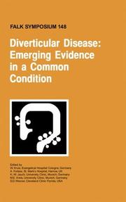 Cover of: Diverticular disease by