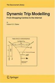 Cover of: Dynamic Trip Modelling