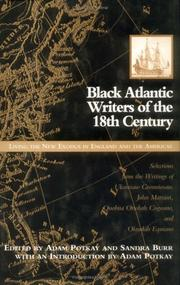 Cover of: Black Atlantic writers of the eighteenth century