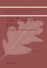 Cover of: The Taste for Ethics