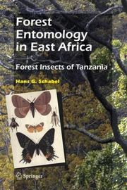 Cover of: Forest Entomology in East Africa | Hans G. Schabel