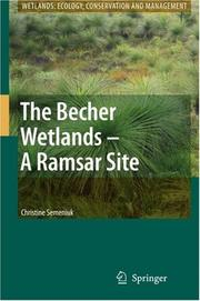 Cover of: The Becher Wetlands - A Ramsar Site (Wetlands: Ecology, Conservation and Management)