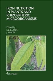 Cover of: Iron Nutrition in Plants and Rhizospheric Microorganisms |