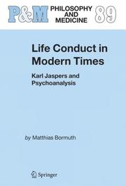 Cover of: Life Conduct in Modern Times