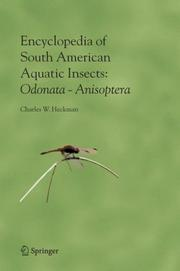 Encyclopedia of South American aquatic insects by Charles W. Heckman