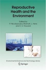 Cover of: Reproductive Health and the Environment (Environmental Science and Technology Library) |
