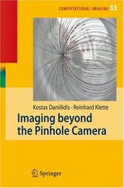 Cover of: Imaging Beyond the Pinhole Camera (Computational Imaging and Vision) |