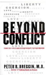 Cover of: Beyond Conflict