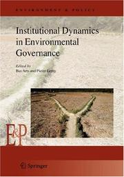 Cover of: Institutional dynamics in environmental governance |