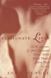 Cover of: Passionate lives