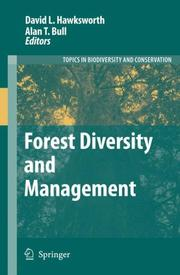 Cover of: Forest Diversity and Management (Topics in Biodiversity and Conservation) |