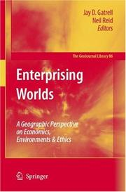 Cover of: Enterprising Worlds |