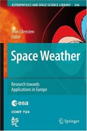 Cover of: Space Weather