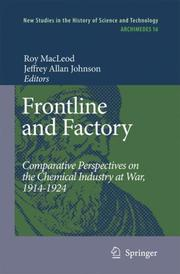 Cover of: Frontline and Factory |
