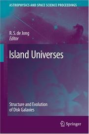 Cover of: Island Universes (Astrophysics and Space Science Proceedings)
