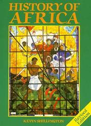 Cover of: History of Africa