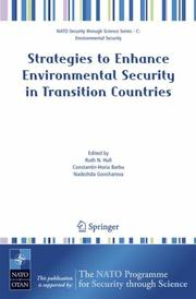 Cover of: Strategies to enhance environmental security in transition countries by