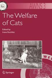 Cover of: The Welfare of Cats (Animal Welfare)