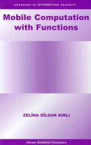 Cover of: Mobile Computation with Functions (Advances in Information Security)