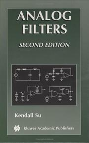 Cover of: Analog Filters