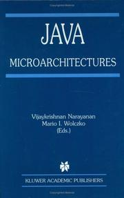 Cover of: Java Microarchitectures (The Springer International Series in Engineering and Computer Science) |