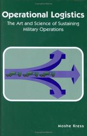 Cover of: Operational logistics
