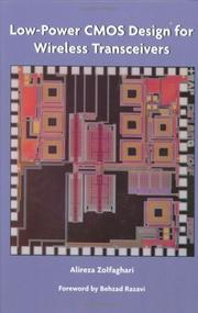 Cover of: Low-power CMOS design for wireless transceivers