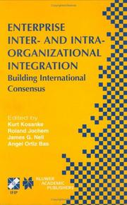 Cover of: Enterprise Inter- and Intra-Organizational Integration |