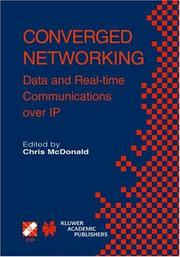 Cover of: Converged Networking