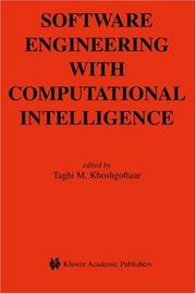 Cover of: Software Engineering with Computational Intelligence