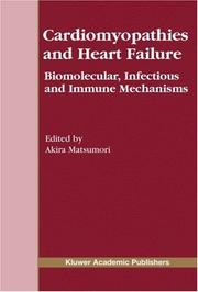 Cover of: Cardiomyopathies and Heart Failure