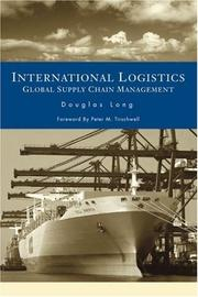 Cover of: International logistics