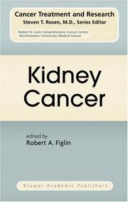 Cover of: Kidney Cancer (Cancer Treatment and Research)