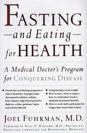 Cover of: Fasting and eating for health